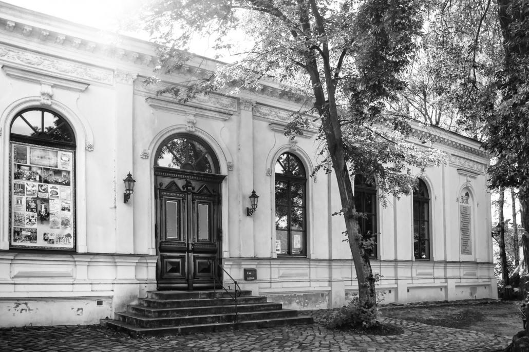 Der Eingangsbereich vom LabSaal Berlin Lübars