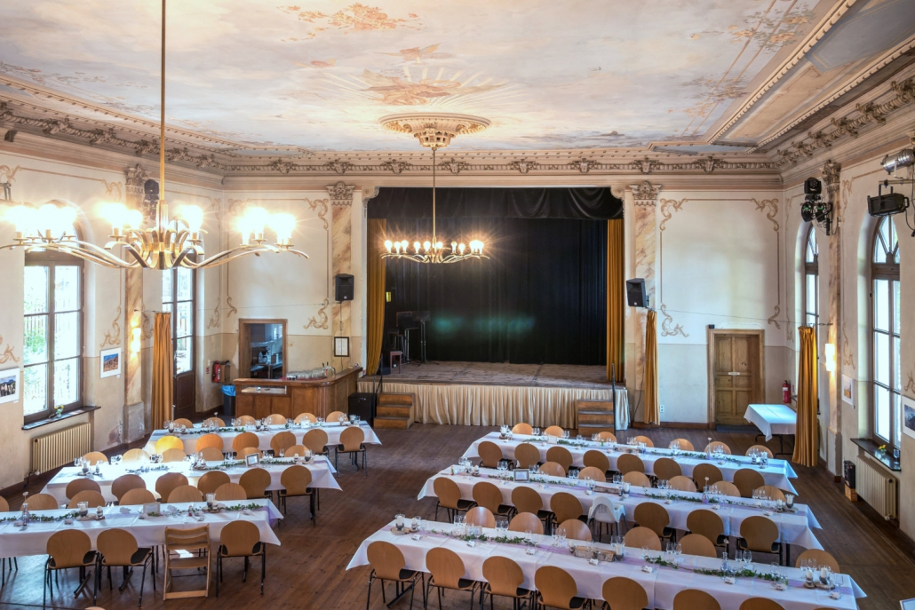 Die Bühne vom LabSaal Berlin Lübars