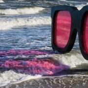 Rote Sonnenbrille, Fotografie von Beate-Faller-Hagmann