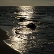 Küste Gegenlicht, Fotografie von Dieter Kirsch
