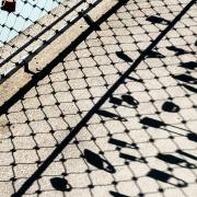 Schlösser am Zaun, Fotografie von Gisela Peters