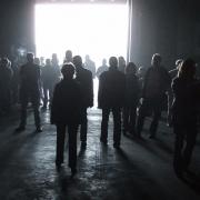 Menschen im Gegenlicht, Fotografie von Klaus Wißkirchen