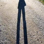 Schattenfigur, Fotografie von René Minkels