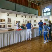 Vorbereitung der LabSaal Fotogruppe zur Ausstellung Lost Places