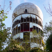 Teufelsberg - Radarstation, Fotografie von Giesela Peters