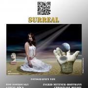 Plaket der Fotoausstellung 'surreal'