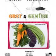 Plakat der Ausstellung Obst und Gemüse